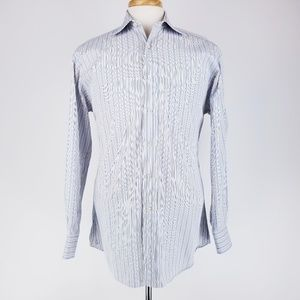 Ike Behar Button Down Shirt 15.5 x 33